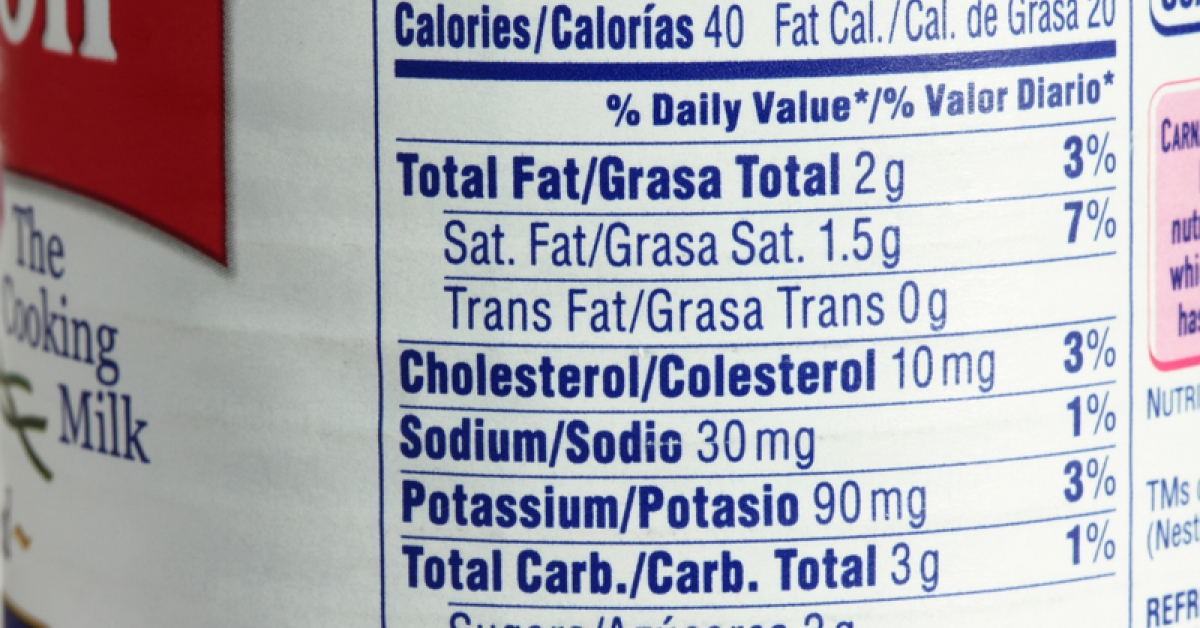 Packaged Foods See Sodium Decrease